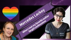 Gail Carriger Meets Mercedes Lackey ~ A Fangirl Story (Video) - Gail Carriger Etiquette And Espionage, Gail Carriger, Female Knight, Blurb Book, Find Friends, Book Stands, Story Video, San Andreas, Book Signing