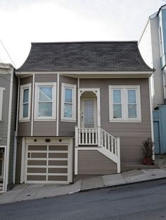 Exterior house painting by CertaPro house painters in Bernal Heights