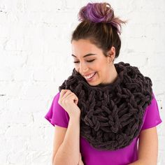 Yep. You are about to learn how to knit... using only your arms!