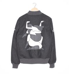 wool varsity jacket all that ever mattered | by Parra