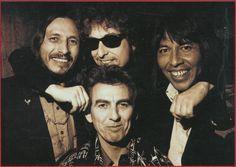 John Trudell, Bob Dylan, George Harrison, Jesse Ed Davis