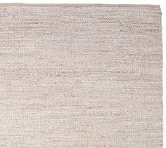 Heather Chenille Jute Rug - Gray | Pottery Barn