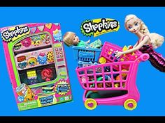 Shopkins Play Doh Peppa Pig DisneyCarToys Frozen Elsa and The Little Mermaid Ariel - YouTube