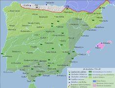 756 dC - España Islámica y La Reconquista