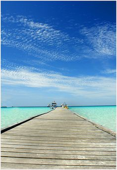 Redang Island, Terengganu, Malaysia. I want to see the clear seawater with the blue sky~~