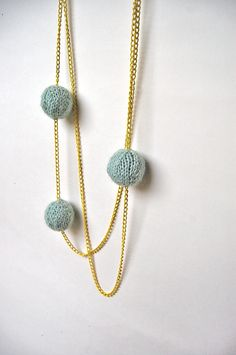Fab knitted necklace from YouaremyDoll
