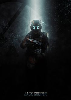 Jack Cooper Jack Cooper Gallery quality print on thick / metal pla. Character Concept, Character Art, Concept Art, Gaming Posters, Halo 5, Dead Space, Gaming Wallpapers, Fan Art, Video Game Art