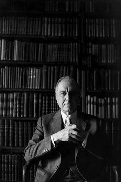 Henri Cartier-Bresson // 1971 - Julien Green, american writer.