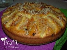 Elmalı Diyet Kek – Diyet Yemekleri – The Most Practical and Easy Recipes Easy Cake Recipes, Diet Recipes, Dessert Recipes, No Gluten Diet, Diet Cake, Apple Diet, Diet Desserts, Pudding Cake, Turkish Recipes