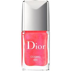 Dior Vernis Couture Color Gel Shine Nail Lacquer, Dior Addict... (3025 RSD) ❤ liked on Polyvore featuring beauty products, nail care and nail polish