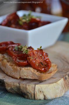 La Cucina Scacciapensieri: Mi gioco il jolly: Pomodorini confit sott'olio