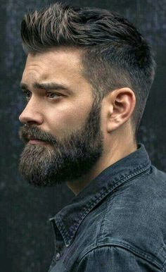 Face shape is an important factor to determine which beard style will suit on you. These are beard style for round face men to make your decision easier. Trending Hairstyles For Men, Mens Hairstyles With Beard, Haircuts For Men, Cool Hairstyles, Fashion Hairstyles, Curly Haircuts, Mens Hairstyles Widows Peak, Hairstyles Haircuts, Hairstyle Ideas