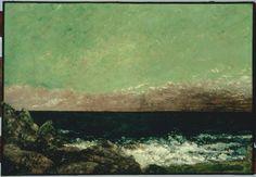 Gustave Courbet, The Mediterranean (1857)