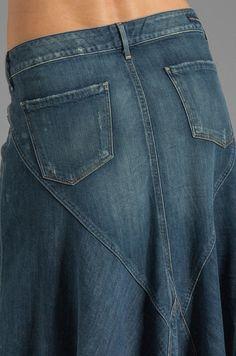Citizens of Humanity Jeans Anja Maxi Skirt en Dizzy | REVOLVE
