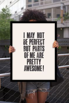 no one's perfect!