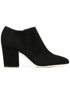 Ankle boot de couro