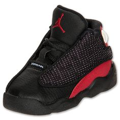 Boys' Toddler Air Jordan Retro 13 | FinishLine.com | Black/Varsity Red/White