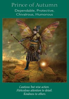 Oracle Card Prince of Autumn | Doreen Virtue | official Angel Therapy Web site
