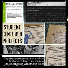 Students stretch their creative selves in student-centered projects focused on people from history - photo journals, blogs, resumes and more.  Love to see what students do when supported with these ready to use project tools.