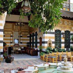 بيت دمشقي  damascus