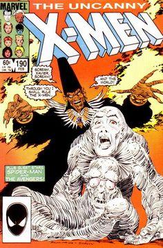 Uncanny X-Men # 190 by John Romita Jr. & Dan Green