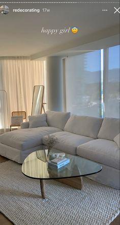 Home Room Design, Dream Home Design, Home Interior Design, Living Room Designs, Apartment Interior, Apartment Living, Dream Apartment, Home Living Room, Living Room Decor