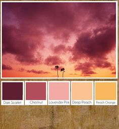 'My name is Mhairi and I'm a colour junkie'.  Here are some colour palettes inspired by oh so pretty places and images. Enjoy!