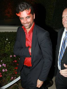John was seen leaving a private Halloween party dressed like the devil in  sc 1 st  Pinterest & Cheap and Easy Halloween Costumes for Men | Costumes | Pinterest ...