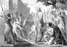 Catholic Scot: Christ Riding Into Jerusalem- A Poem    It was a triumph, of sorts.-  A great rejoicing that bright day.-  Under the sun that too soon set.