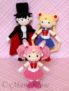 Ravelry: Sailor Chibi Mini Moon Amigurumi Doll by Wendy Korz