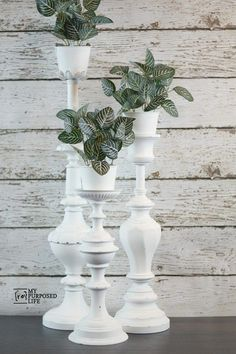 Repurposed Lamp Candle Holders Aren't you in love with these repurposed lamps? Repurposed Lamp C Repurposed Items, Repurposed Furniture, Diy Furniture, Rustic Furniture, Modern Furniture, Furniture Stores, Antique Furniture, Furniture Market, Furniture Refinishing