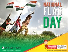 Happy National Flag Day - Agarwal Packers and Movers - DRS Group