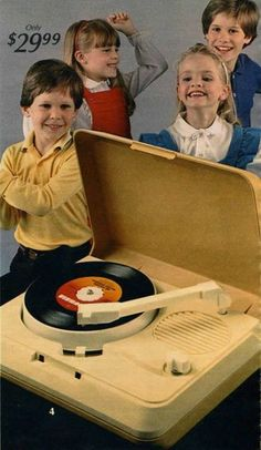 I loved my phonograph player.