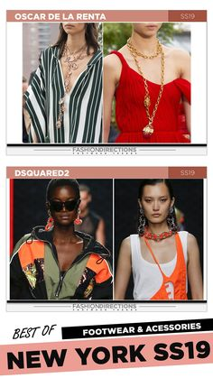 #nyfw #2018 #ss19 #bestof #womens #footwear #shoes #handbags #trends #fashion #accessories #fashiondirections #oscardelarenta #dsquared2 Nyfw 2018, New York, Footwear Shoes, Prabal Gurung, Ulla Johnson, Carolina Herrera, Hugo Boss, Diane Von Furstenberg, Dsquared2
