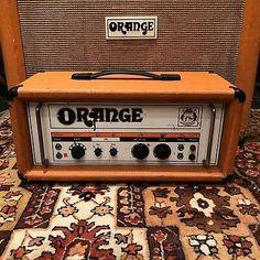 Orange Amplifiers, Valve Amplifier, Orange Amps, Marshall Speaker, Guitar Amp, Old And New, The Originals, Heaven, Aesthetics