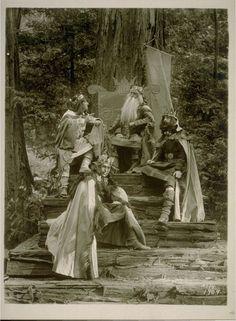 Photo of the ultra-exclusive Bohemian Grove play, CA Bohemian Grove, Illuminati Conspiracy, Masonic Symbols, Hotel California, Historical Pictures, Faeries, Pagan, Photo Art, Statue