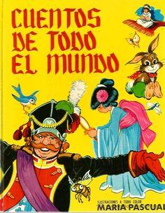 CUENTOS DE TODO EL MUNDO ( ILUSTRACIONES COLOR DE MARIA PASCUAL ) - Foto 1
