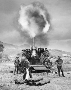 Korean War Artillery
