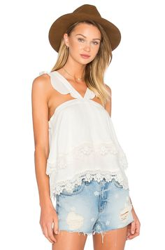 Lovers + Friends Destined Top in Ivory | REVOLVE
