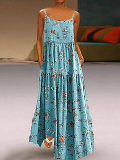 Cheap Summer Dresses, Vestidos Vintage, Patchwork Dress, Chiffon Maxi, The Dress, Floral Prints, Boho, Bohemian Print, Clothes