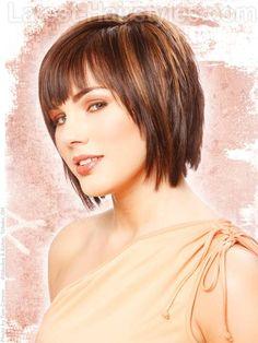 Short To Medium Length Haircuts With Bangs