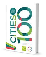 """100 TOP CITY SOLUTIONS TO CLIMATE CHANGE,  by C40 Cities & Sustania.  A wonderful, beautiful resource.  Click on topic sections or (click to read) at the website, to review this magazine-format list of Climate Change solutions for cities throughout the US and the world. A """"C-Smart"""" Solutions TOP PICK!"""