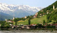Republic of Georgia. Caucasus, Travel, Hiking, Mountain