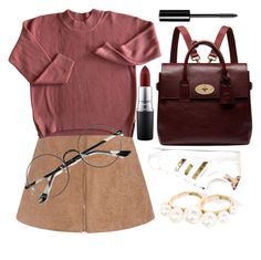 """""""day at the library"""" by gaaras-leaf on Polyvore featuring BaubleBar, adidas Originals, Chicnova Fashion, Mulberry, Chanel, MAC Cosmetics, women's clothing, women's fashion, women and female"""