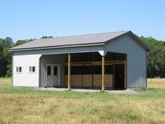 2 Stall Horse Barn Layouts | ... Stall Barn Ideas http://www.pic2fly.com/2-Stall-Horse-Barn-Designs