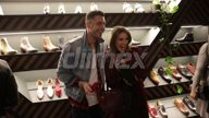 EXCLUSIVE VIDEO Georgia Love and Lee Elliot less than affectionate at Bared Launch