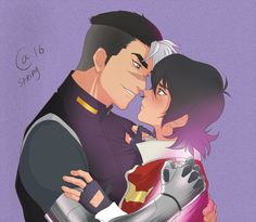 Voltron - Keith x Shiro - Sheith Keith Kogane, Voltron Ships, Love You Baby, Doja Cat, Paladin, Me Me Me Anime, Cute Drawings, Cute Couples, Animation