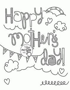 funny mothers day coloring page for kids coloring pages printables free wuppsycom