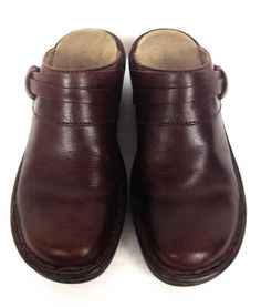 Clarks Shoes Brown Leather Loafers Womens 6 #Clarks #LoafersMoccasins #WeartoWork