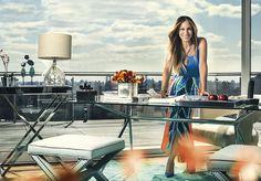 Campanha Primavera Verão 2014 2015 Maria.Valentina, fotografada no Hotel Standart East Valley, em Nova York, estrelada por Sarah Jessica Parker.  #newyork #ny #sarahjessicaparker #sjp #fashion #mariavalentina #moda #brasil